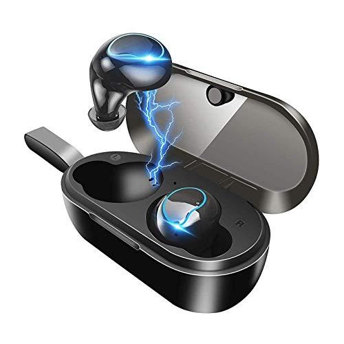Portátiles Auricular Bluetooth estéreo 3D cancelación de ruido auriculares, micrófono incorporado en la oreja los auriculares Deportes, resistente al agua IPX7 Sweatproof, for Running / Viajes / Gimna