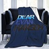Shichangwei Dear Evan Hansen Sherpa - Manta para cama y sofá