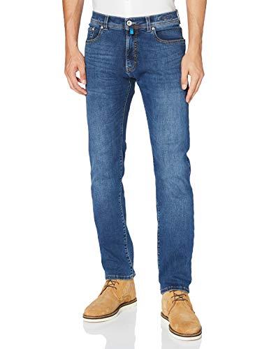 Pierre Cardin Lyon Tapered Jeans, Bleu, 3434 Homme