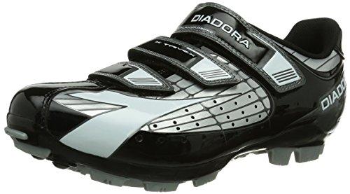 Diadora Diadora X TRIVEX, Unisex-Erwachsene Radsportschuhe - Mountainbike, Silber (silber/schwarz/weiß 1147), 42 EU