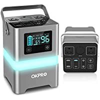 OKPro 62500mA /231Wh 110V Portable Solar Power Station
