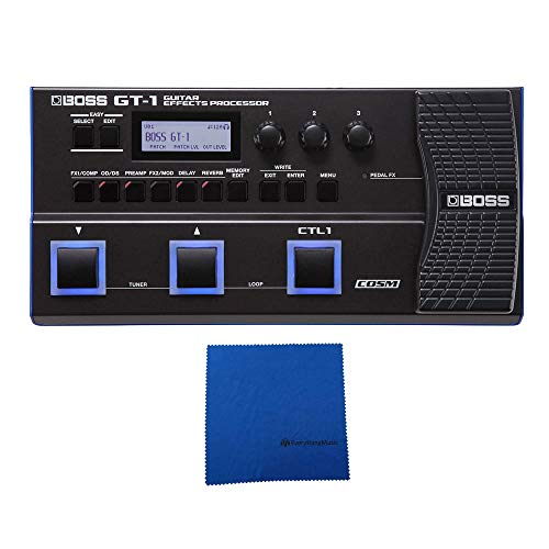 Boss GT-1 Guitar Multi-Effects Processor with Microfiber