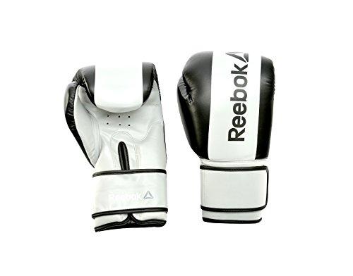 Reebok RSCB-11114BK Guantes de Boxeo, Negro, 14 Oz