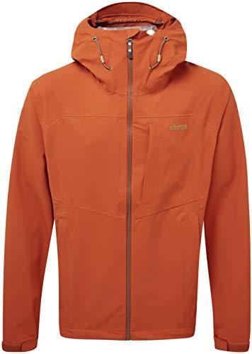 Sherpa Herren Pumori Jacket Regenjacke Rot/Orange XXL