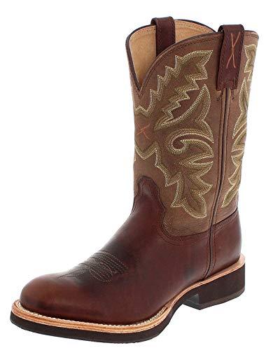 Twisted X Boots HORSEMAN 1692 Braun Herren Westernreitstiefel