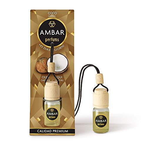 Ambar Perfums Ambientador Coche Coco Colgante 6,5ml