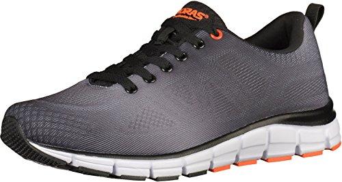 Boras Sneaker in Übergrößen Schwarz 5201-0114 große Herrenschuhe, Größe:48