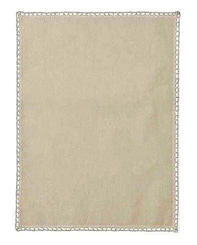linen702 Plain 100% Cotton Narrow & Regular Size Cream Chair Arm Covers & Chair Backs, Quality UK Made, (CHAIR BACKS (52203))