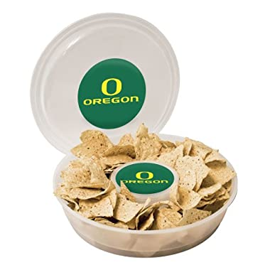 NCAA Oregon Ducks Plastic Chip and Dip Container