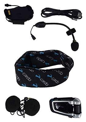 Cardo Scala Rider Packtalk Bold Packtalk Slim Helmet Communication Headset JBL Audio with Neck Gaiter (Packtalk Bold JBL) by Cardo