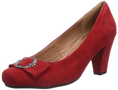 Hirschkogel by Andrea Conti 3009206021, Escarpins pour Femme Rouge Rot (Rot 021) 39