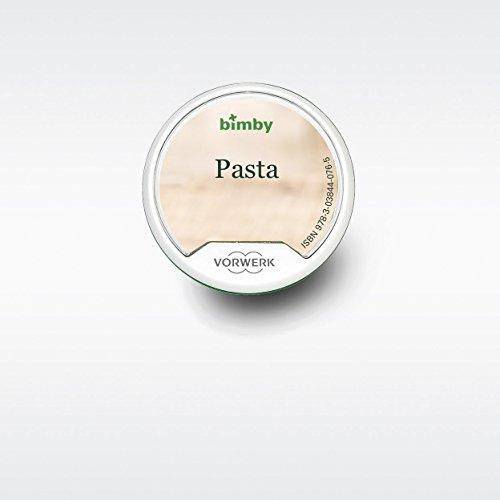 """Libro Digitale """"Pasta"""" para Thermomix TM5 Vorwerk (Versión Italiana)"""