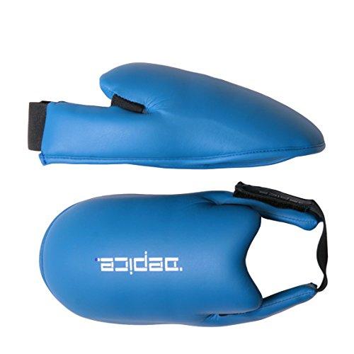 DEPICE Schutzausrüstung Karate-Fußschutz, Blau, XS, sa-fdb