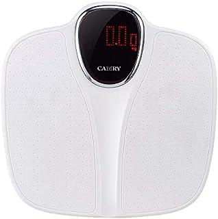 Báscula de peso personal inteligente electrónica para el cuerpo de la báscula de peso de la máquina de pesaje Vascula Digital Corporal Fitness Suministros Báscula de pesaje (color: blanco)