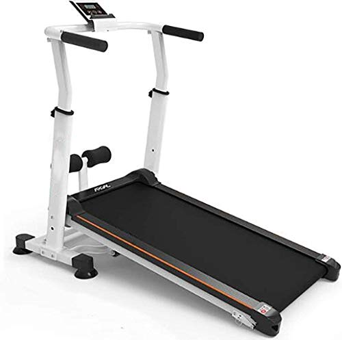 FANLIU Mini Falten mechanische Laufband, einfache kleine Gehhilfe for zu Hause, Keine Notwendigkeit zu stecken, Dickes Basisrohr, Luftstoßdämpfung, Gewichtsverlust Fitness-Geräte