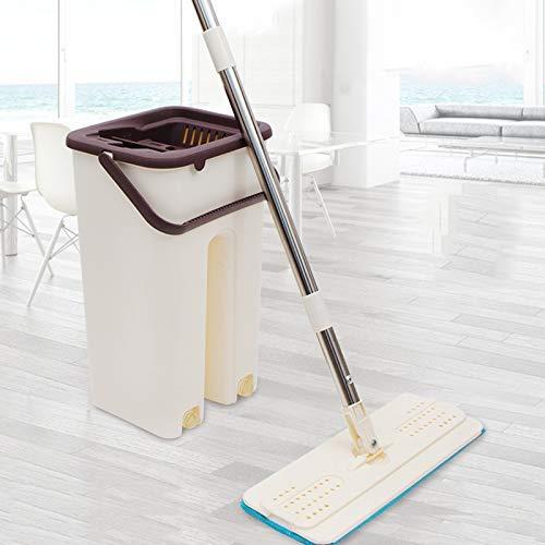 BestSiller Mop schoonmaak tool kit, huis 360 graden roterende tegel marmeren vloer, 360 graden geen dode hoek, handige opslag, ruimte besparen, geen land