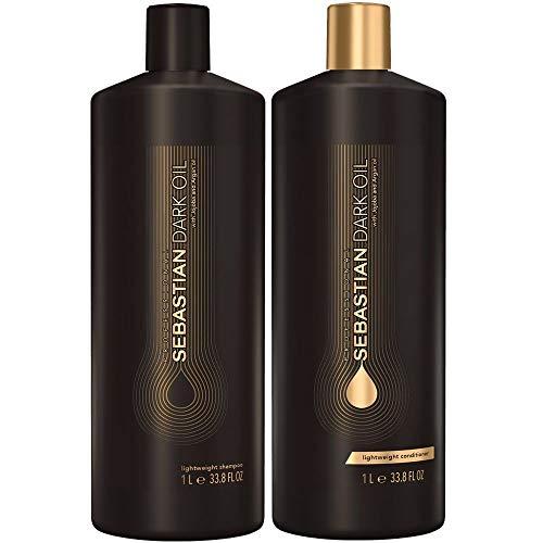 Kit Shampoo + Condicionador 2x1000ml Sebastian Dark Oil