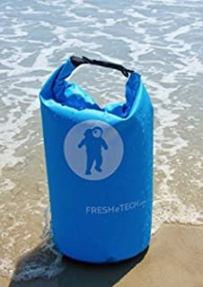 Waterproof Dry Bag - FRESHeBAG - Perfect for The Beach,  Kayaking,  Paddle Boarding,  Hiking,  Fishing,  Camping,  Boating and Rafting