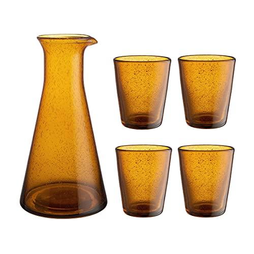 Butlers WATER COLOUR Karaffe mit 4 Gläser