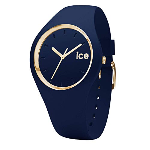 Ice-Watch - Ice Glam Forest Twilitght - Reloj Azul para Mujer con Correa de Silicone - 001059 (Medium)