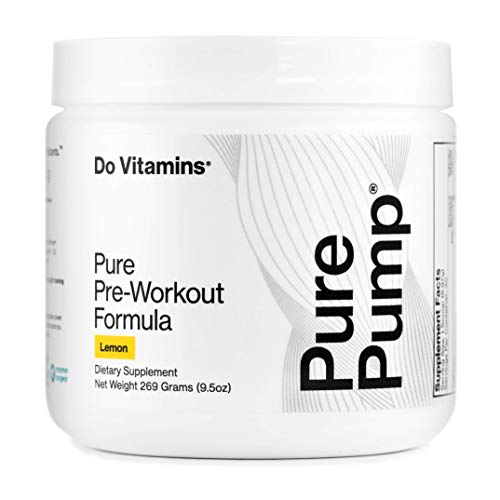 PurePump Lemon Natural Pre Workout Supplement