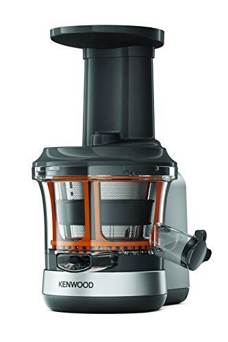 Kenwood Slow Juicer KAX720PL Zubehör für Kenwood Küchenmaschinen, elektrischer Entsafter mit 400ml Saftbehälter und Anti Tropf Funktion