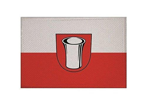 U24 Aufnäher Meßstetten Fahne Flagge Aufbügler Patch 9 x 6 cm