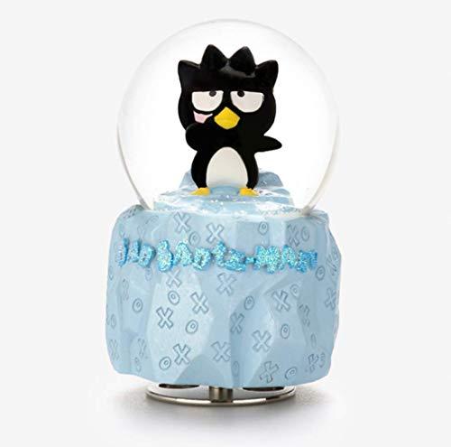 Muziekdoos 6,9 * 6,8 * 10,9Cm, Automatische Sneeuw Draaiende Kristallen Bol Cartoon Meisje Kind Speelgoed Verjaardagscadeau