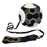 Kit per l'allenamento per Il Pallone Trainer da Calcio per Bambini e Adulti Attrezzatura per L'Allenamento Individuale con Cintura Regolabile