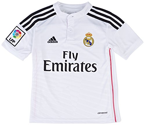 adidas Real Madrid C.F. 2014/2015 Local - Camiseta de fútbol para hombre, color blanco, talla XL