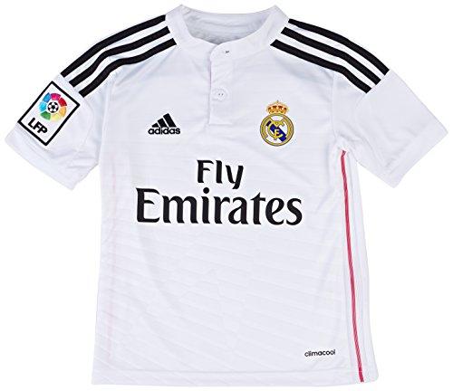 adidas Real Madrid C.F. 2014/2015 Local - Camiseta de fútbol para hombre, color blanco, talla XL