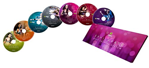 Zumba Fitness® Exhilarate Deutsche original version Premium Body Shaping System 7 DVDs Set