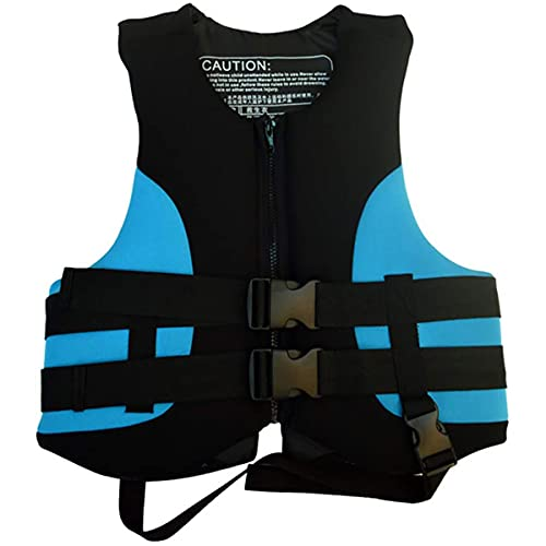 GXLO Chaleco Salvavidas de Espuma Espesa, Chaleco a la Deriva, Traje de flotabilidad, Protección contra inundaciones Chaleco Salvavidas Chaleco Salvavidas, S Blue,