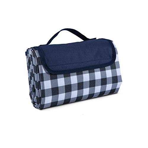 """Classic Gingham Picnic & Outdoor Blanket -57""""x79""""