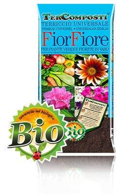 Tierra - Sustrato universal para flores huertas, plantas verdes, fibra de coco, 20 l