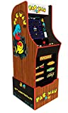 Arcade1Up Pac-Man 40th Edition Home Arcade Machine, 7 Games In 1, 4 Foot Cabinet with 1 Foot Riser - Electronic Games