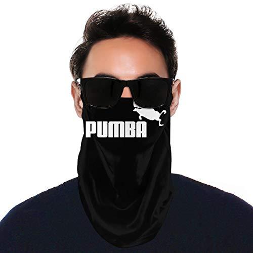 Pekivide Unisex Bandana Pumba Staub Schal Super Soft Balaclava Vielfalt Gesicht Handtuch