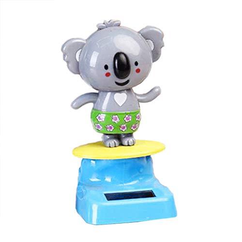 F Fityle Koala Solarfigur Wackelfigur Solar Deko Figur Meerjungfrau Dekoration