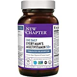 New Chapter Multivitamin for Men 50 Plus + Immune Support - Every Man's One...