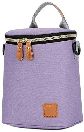 HeißTascheks Insulated Thermal Delivery Fashion Tragbare Lunchbox Tasche Isolationstasche Lunchbag Milchtasche Wasserdichter Picknickrucksack (Farbe: Blau), Pink