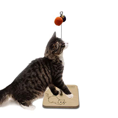【 ちょいちょい猫じゃらし 】knookist 猫おもちゃ ネコ ねこ 遊び 【国内正規品/日本語説明書】 (Hunting cat)