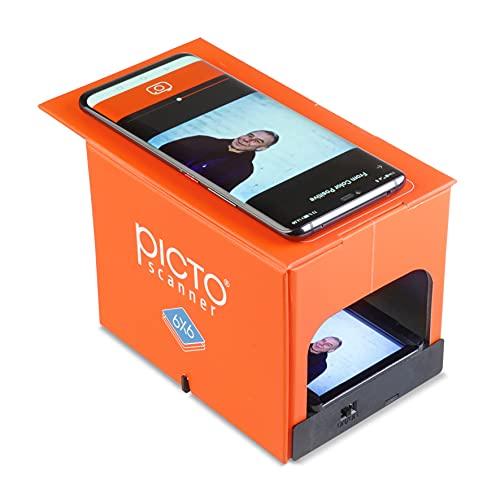 PictoScanner 6x6 - È uno scanner per 6x6 per film 6x6. Scansione e memorizzazione dei tuoi negativi o diapositive con il tuo smartphone.