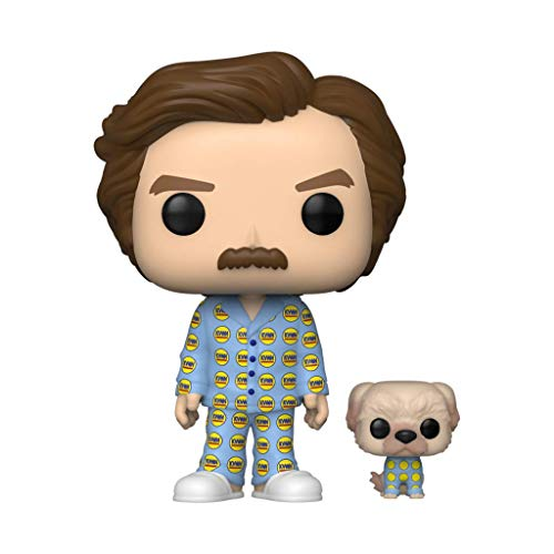 Funko Pop! Movies #946 Anchorman Ron with Baxter (2020 Summer Convention Exclusive)
