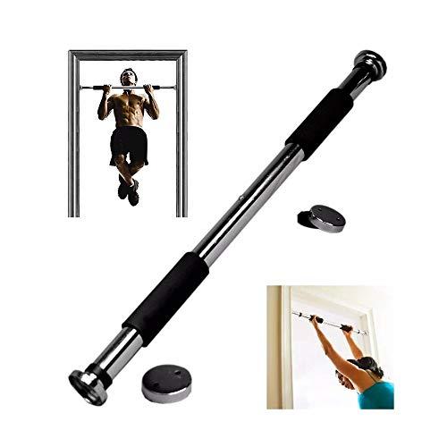YANFENG - Barra de dominadas, ajustable de 62 a 100 cm, barra de dominadas, para puerta, entrenamiento para hombre
