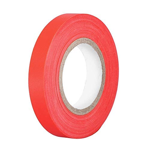20pcs/Set Stretch Tie Tape Plant Ribbon Garden Green Plant Stake Elastic Anti-Aging Garden Tape for Grape Tree Tomato Cucumber Plant(Red)