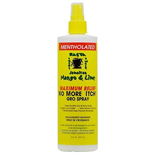 Jamaican Mango No More Itch Gro Spray, Maximum, 16 oz (VI-Z8XF-SRUF)