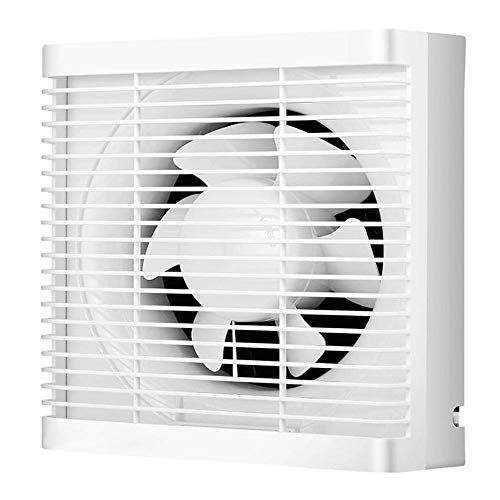LANDUA Leistungsstarker Abluftventilator für Badezimmer Dunstabzugsventilator Starker Ventilator für Küchentoilette Fensterventilatoren Kanalwandventilatoren