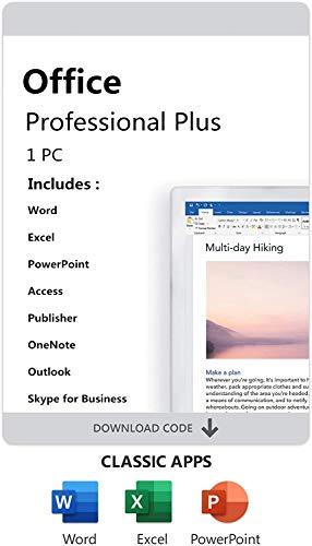 AMAZON Office 2019 Professional Plus für 1 PC. Nur für Windows 10 pro, Versand per E-Mail neu