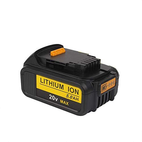 5 Ah 20 V MAX XR Batería de iones de litio de repuesto para DeWalt DCB184 DCB200 DCB182 DCB180 DCB181 DCB182 DCB201