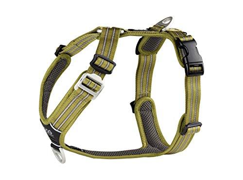 ANIMO CONCEPT Dog Copenhagen Harnais Confort Walk Air pour Chien Vert Taille L